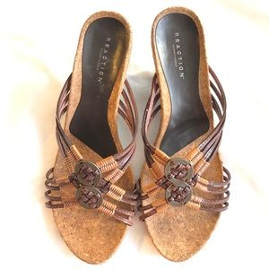 Reaction by Kenneth Cole slip on sandals sz 8